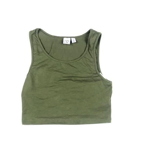 fe27894e2ec bp Tops | Womens Olive Green Crop Top | Poshmark
